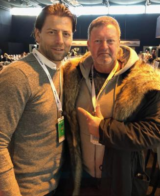 with Roman Weidenfeller