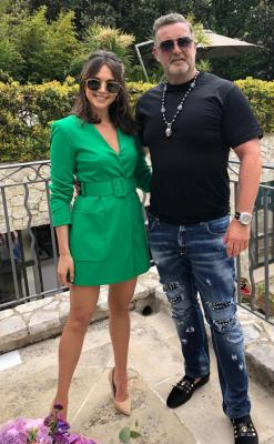 Cannes 2018, mit Mandy Capristo