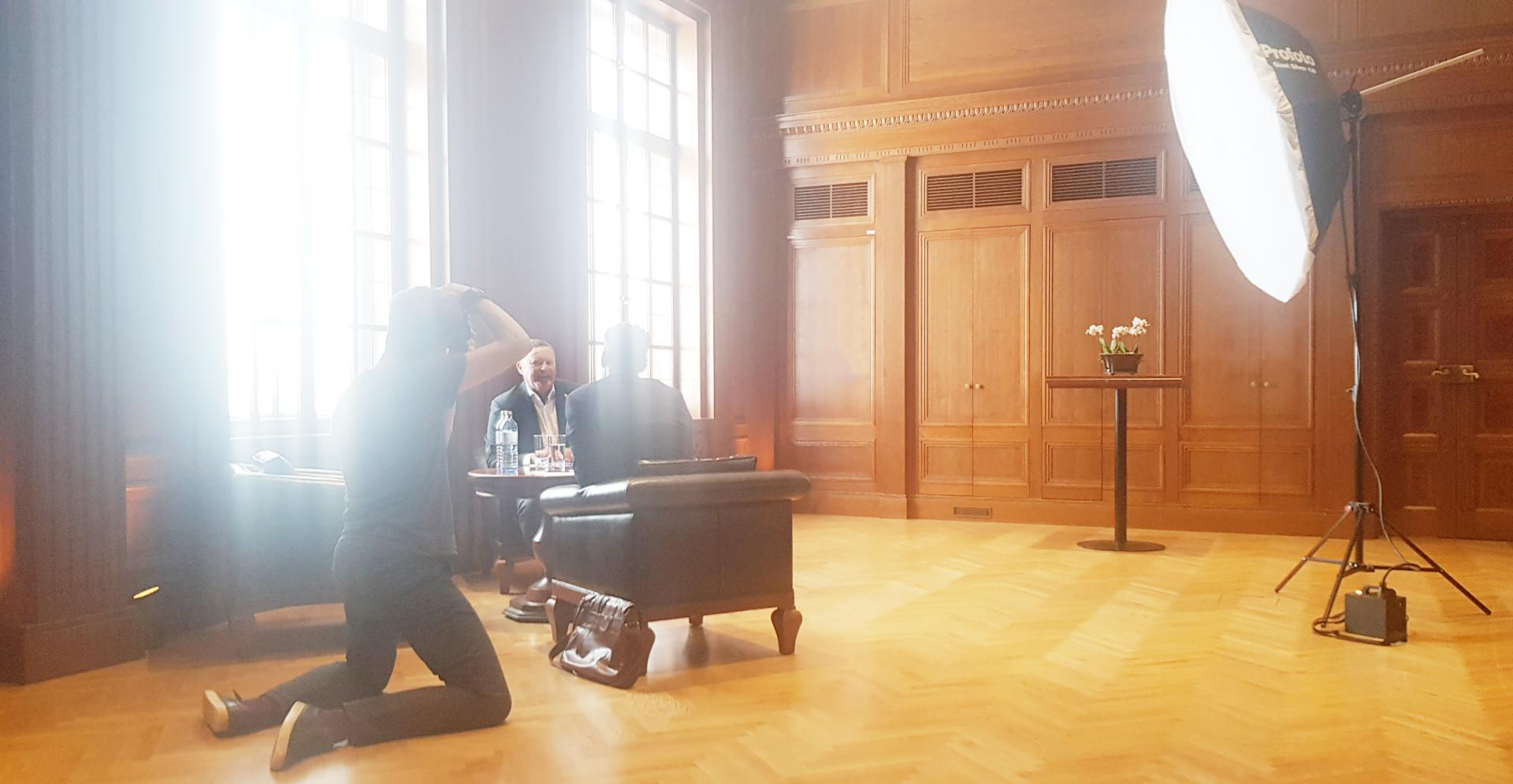 FORBES photo shoot in Vienna