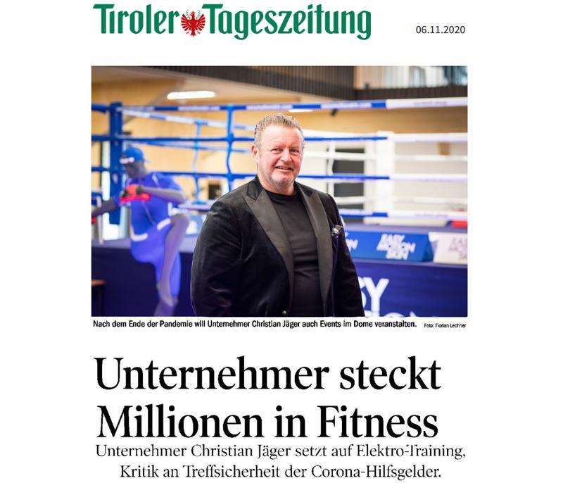 Tiroler Tageszeitung November 2020