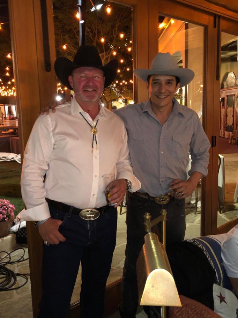with Gabriel Luna