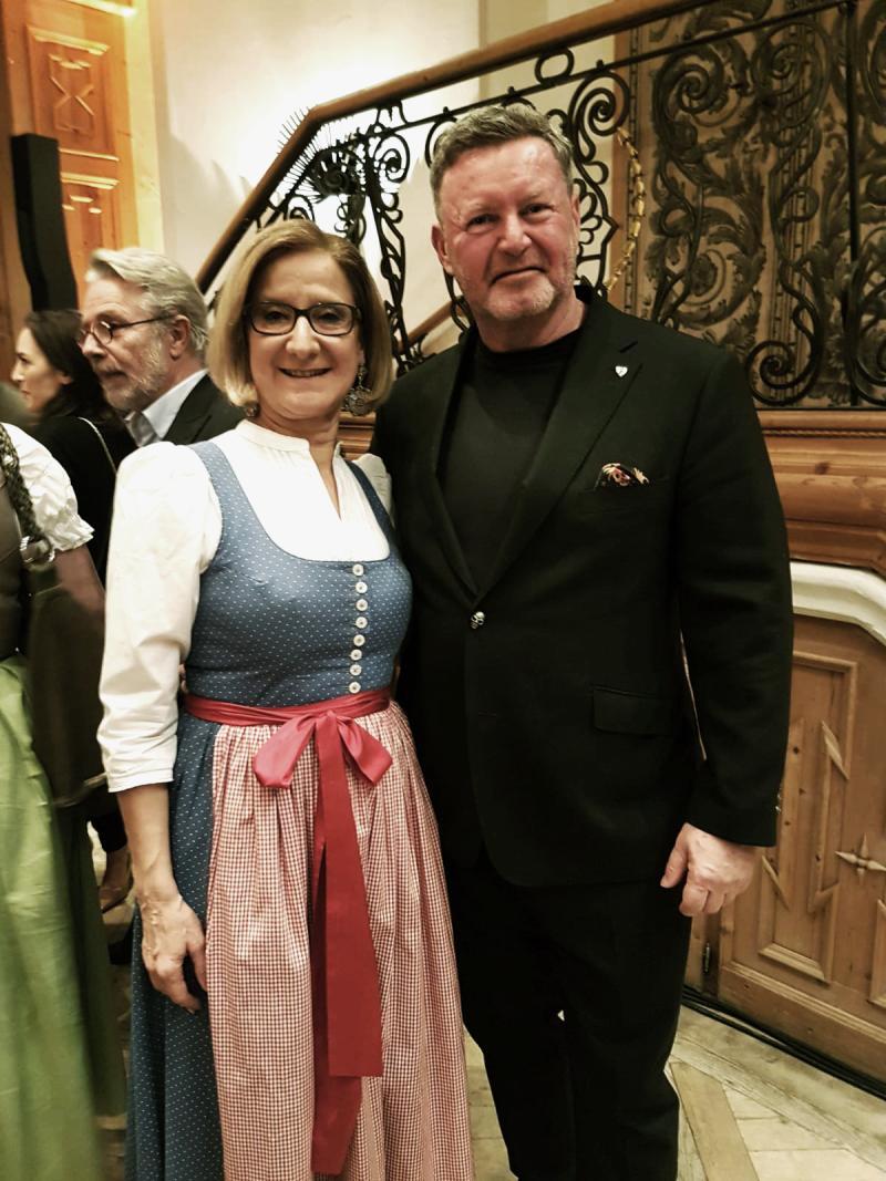 mit Johanna Mikl-Leitner
