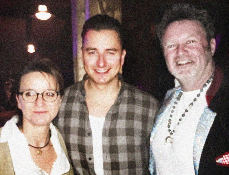 With Brigitte Prömer & Andreas Gabalier