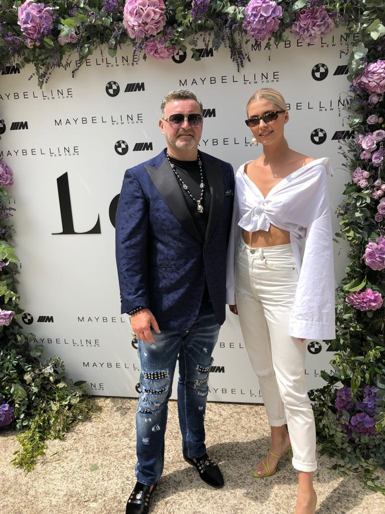 Cannes 2019: with Lena Gercke