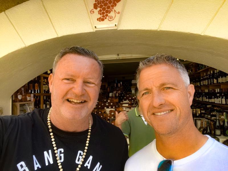Mit Ralph Schumacher Saint-Tropez 2021