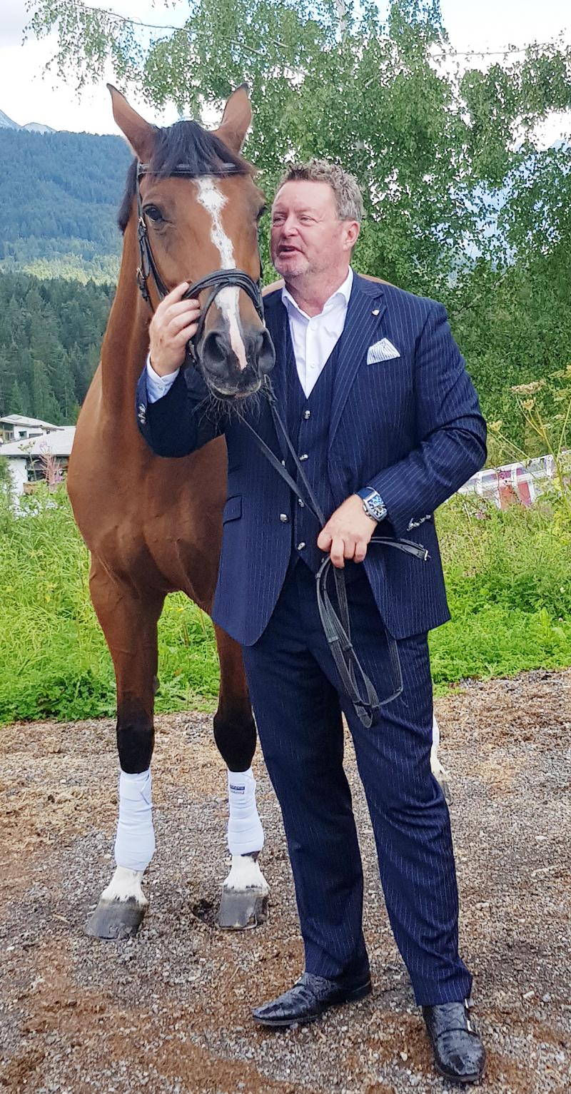 Christian Jäger and the horse sports