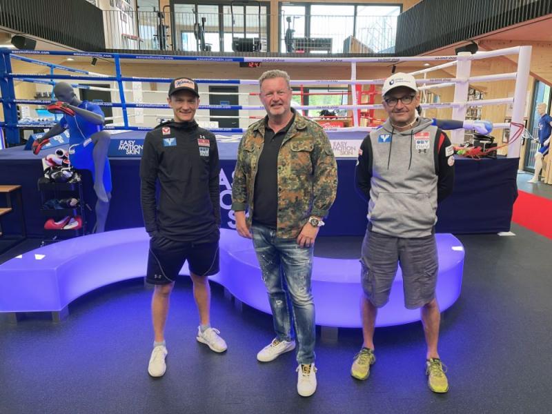 Mit Daniel Huber und Thomas Thurnbichler