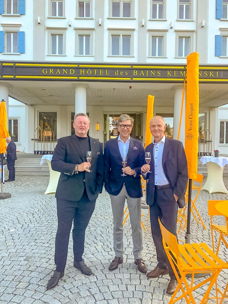 Mit Engelbert Schreiber & Jürgen Baltes
