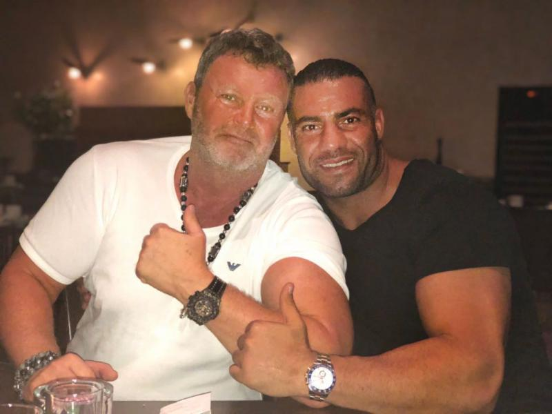with Manuel Charr in Istanbul 2018
