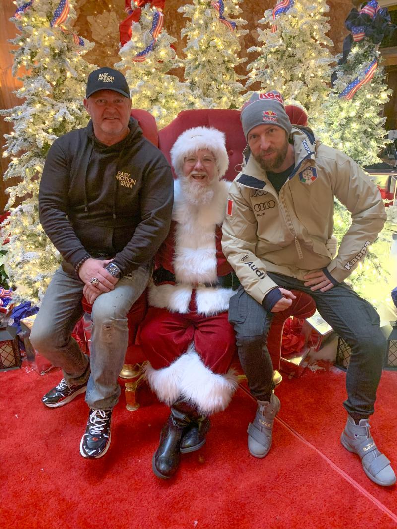 Santa Claus & Jopo Pötschger, NY 2019