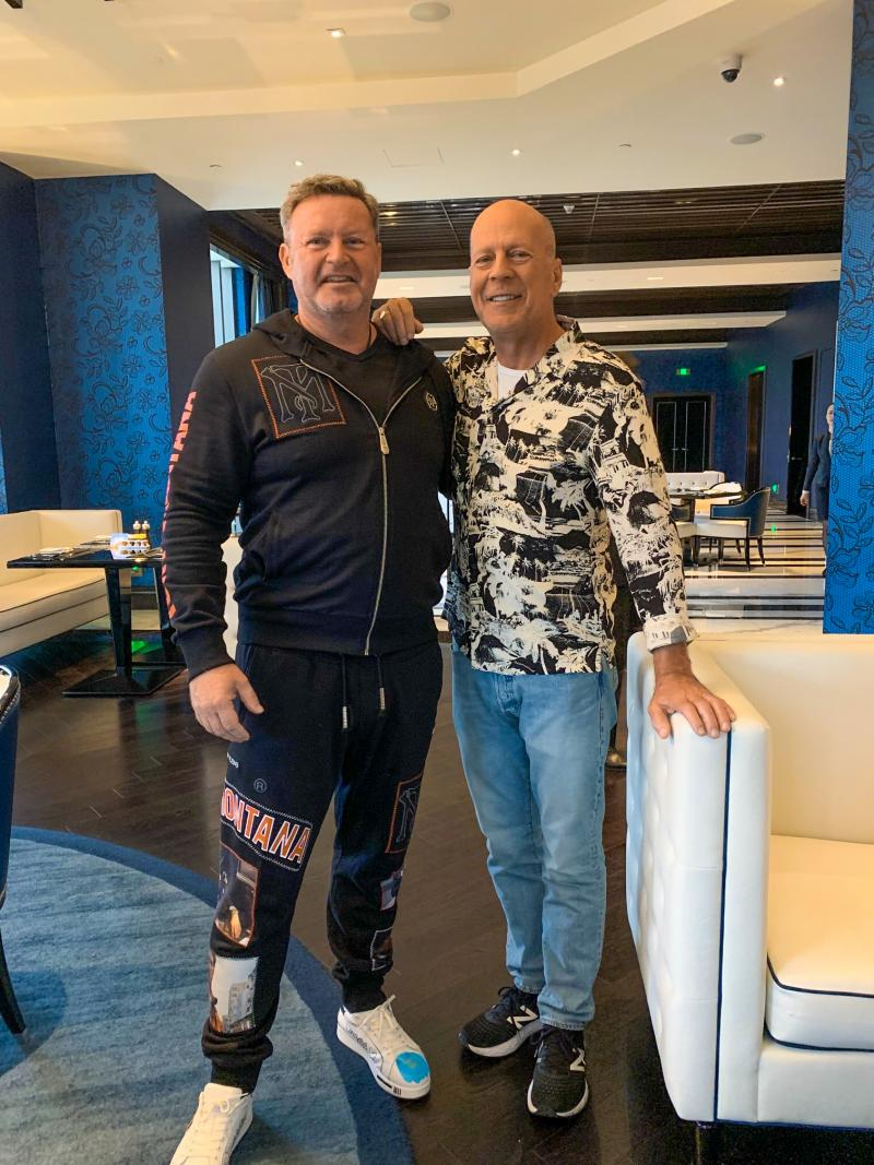 Christian Jäger & Bruce Willis