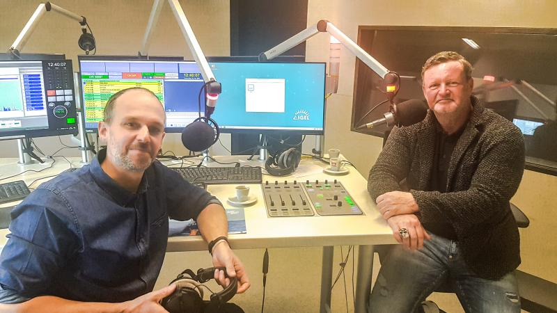 with Sebastian Possert, Life Radio Tirol