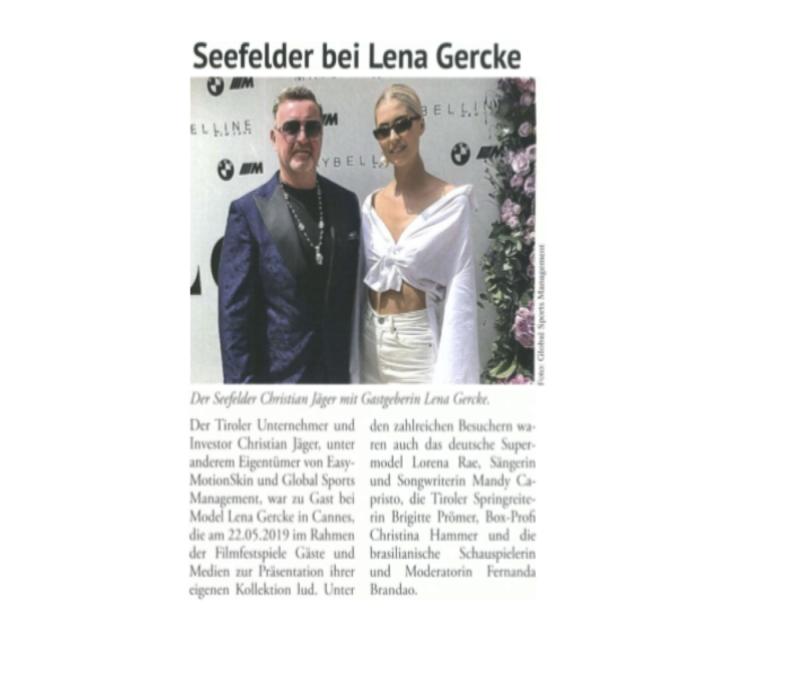 Seefelder mit Lena Gercke