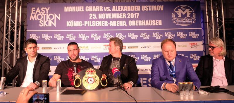 Before Charr vs. Ustinov in Oberhausen