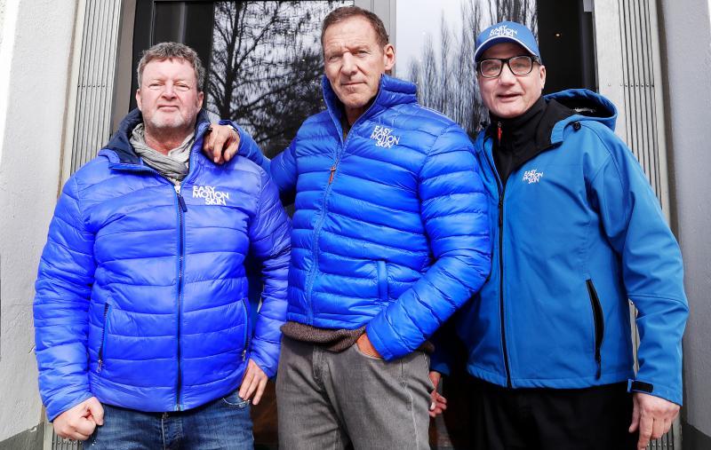 mit Ralf Möller und Franky Scholz